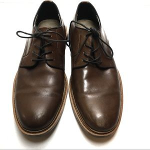 Banana Republic Brown Leather Oxfords